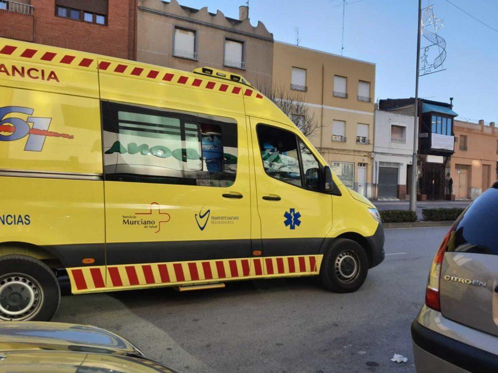 ambulancia yecla datos de incidencia