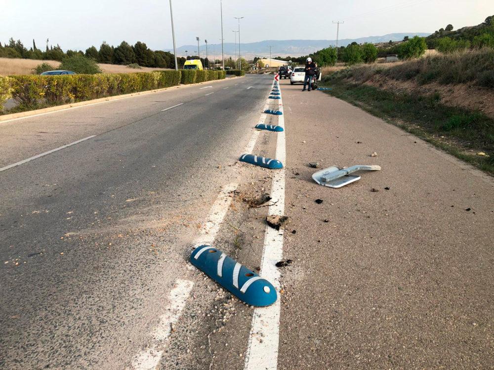 motorista herido san pablo