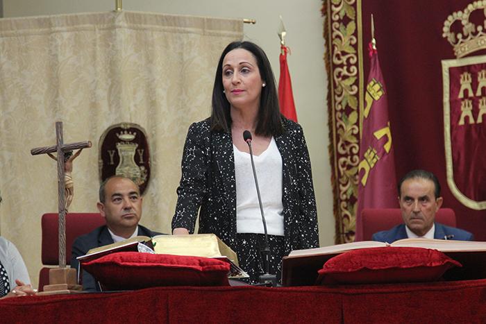 remedios lajara alcaldesa de Yecla