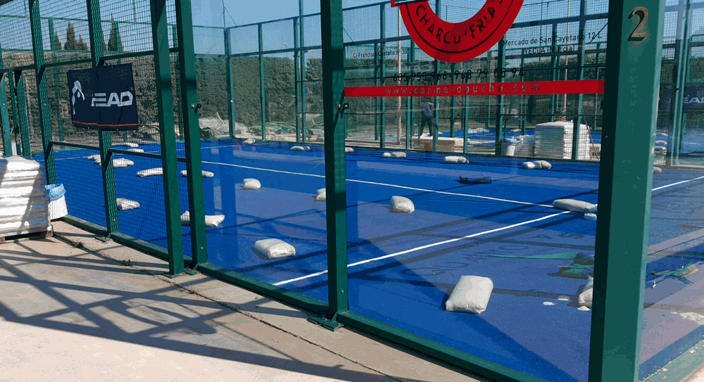 club de tenis pista de padel