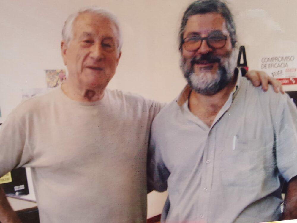 Pedro Iturralde y José Miguel López