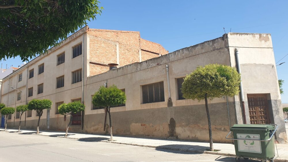 antigua fábrica industria madera