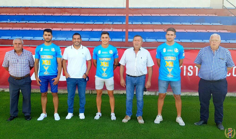 Feli, Mario Tomé y Salinas Yeclano Deportivo