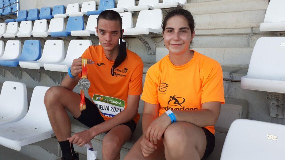 Cristian Villaplana y Ángela Andrés