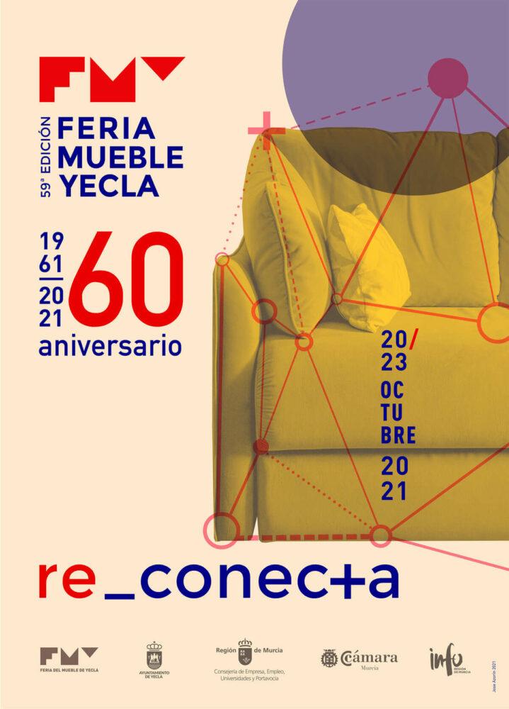 cartel de la feria del mueble yecla