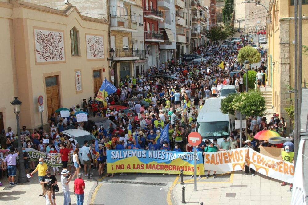 manifestación monte arabí 2012