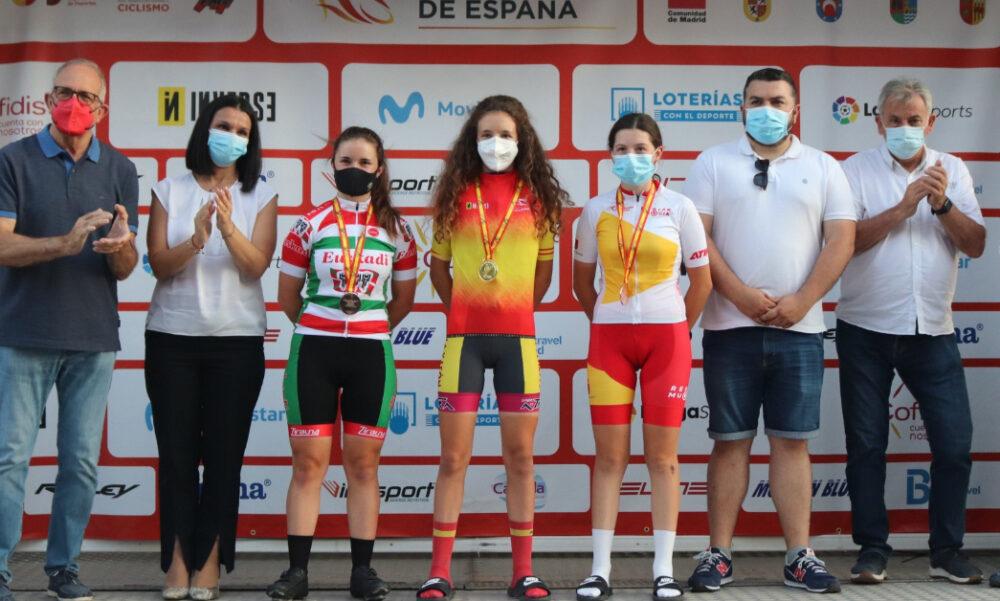 Violeta Hernández ciclismo