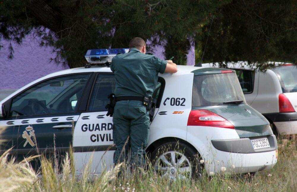 guardia civil robar en empresas