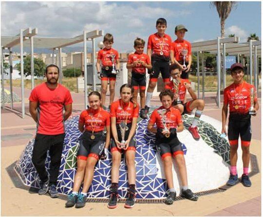 escuela ciclista yecla en totana