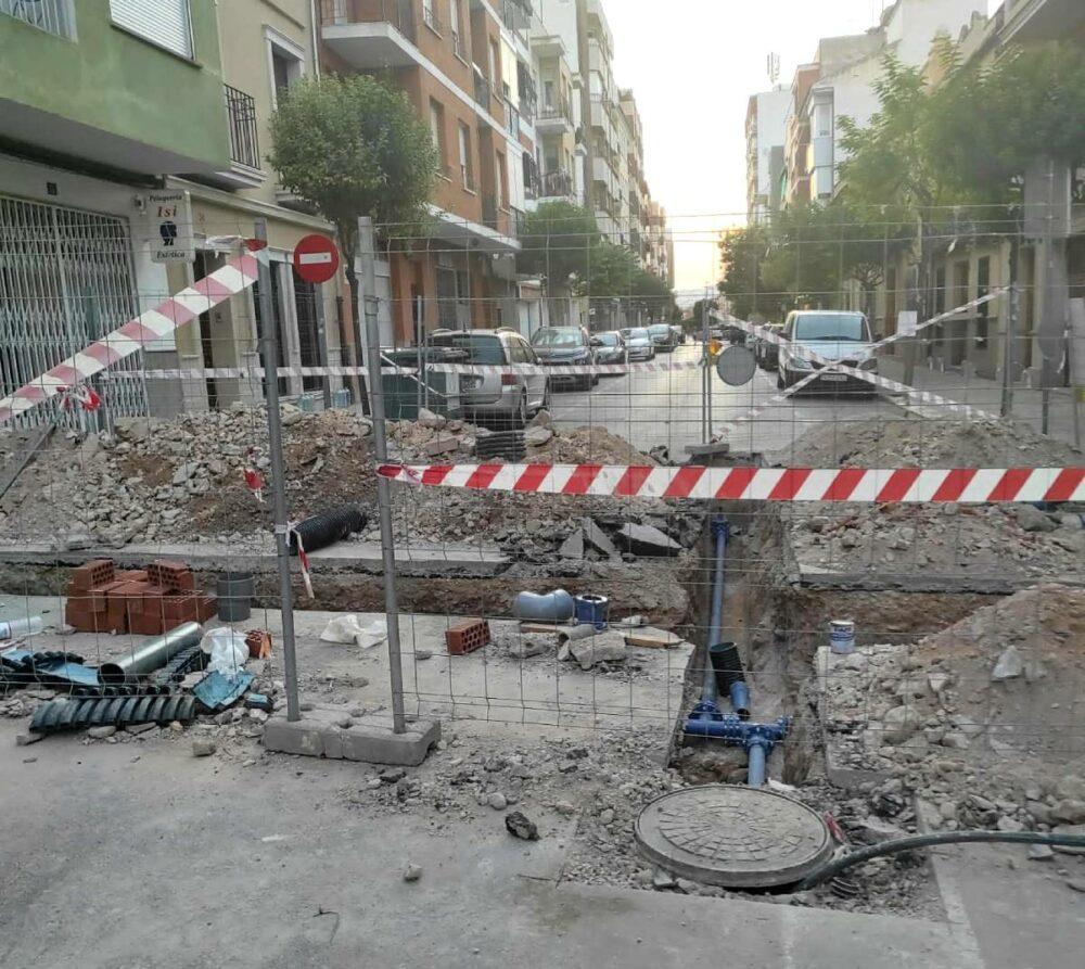obras calle numancia